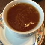 50025165 - フォアグラの茶碗蒸しフカヒレソース