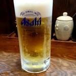 らうめん しんか - 生ビール