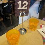 MAX BRENNER CHOCOLATE BAR - プラスチックのコップ&番号札