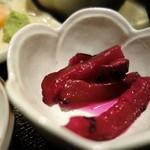 はまかぜ - 漬物(刺身定食)