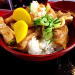 にんにく豚丼 京都・西浦 - 特製甘辛豚丼 並