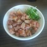 麺~leads~なかの - 「炙りチャーシューめし」