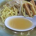 ふく寿 - 豚骨ベースの塩しょっぱ旨スープ