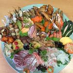 和饗 - 糸島の宴会用鉢盛り