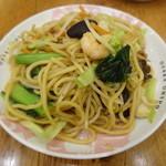 大阪王将 - 太麺の焼きそば