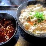 紅丸 - 豚バラ辛味つけ麺!(2016,04/17)