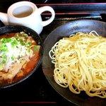 紅丸 - 肉つけ麺(辛味噌)!(2016,04/17)
