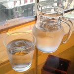 テーブル モダン サービス・ジュウガオカ - お水