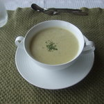 安座真ムーンライト・テラス - オクラの冷スープ