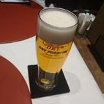 円山 旬 - ビールが1番美味しかった
