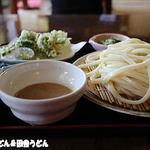 田舎うどん てつ - 2016年4月 テッピ―もり+山菜天ぷら