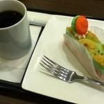 rokurokukafe - コーヒー+ムースフレーズ