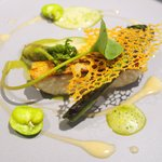 50043006 - ランチコース 5940円 の長崎県産尾長鯛と春の山菜
