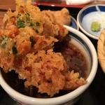 壱 - 麺つゆ&桜海老のかき揚げ