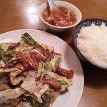 桃宴 - 料理写真:回鍋肉orライス