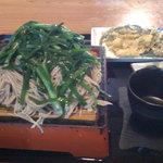 宮入そば - ニラ蕎麦
