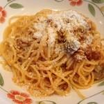 サイゼリヤ - きのことミートソースのスパゲティ
