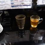 琉球・アジアンバール チュミチュミ - カレー春雨 お湯割り、さんぴん茶 温