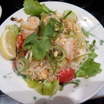 琉球・アジアンバール チュミチュミ - タイ風  海老とミンチの春雨サラダ
