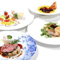 レストラン クララ - 【ディナー フルコース 一例】季節により年間10回程替わる、シェフ上原、渾身のコース料理をご堪能くださいませ。