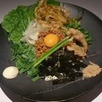 三代目晴レル屋 - 【旬菜和えsoba台湾】辛さが癖になる汁なしsoba