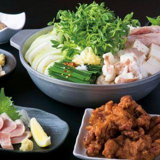 麺屋はなび新山大将監修のもつ鍋、台湾まぜめし、居酒屋メニュー