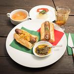 Futbol & Cafe mf - 『チョリパンランチ』 ¥1,000