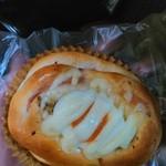ハウネベーヤー さんちか店 - 半熟卵とベーコンのパン