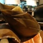 50068633 - 筍 新鮮です!                       七輪で焼いて食べます