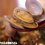 丸亀製麺 - 綺麗なあさりだっぽ