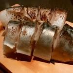 きはちらくはち - 「しめ鯖の棒寿司」