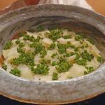 豪龍久保 - 筍と花山椒の炊き込みご飯