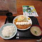 豚菜 - ハーフタルタルチキンカツ定食