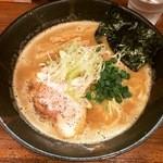 麺匠ことぶき - 2016.4中_濃厚醤油かつお(730円)