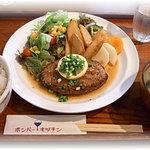 5008302 - 和風ハンバーグステーキ定食
