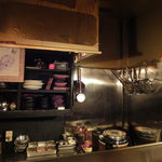丸鉄 小野 - 厨房