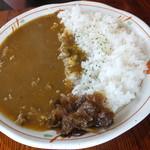 レストラン ペチカ - ビーフカレー 税込¥750