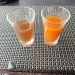 50084885 - 黒酢ジュース、人参ジュース