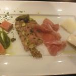 オステリア ヤスダヤ - 料理写真:前菜盛合せ