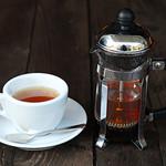 Futbol & Cafe mf - ホットマテ茶 (2杯分) ¥700