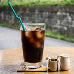 Futbol & Cafe mf - アイスコーヒー ¥500