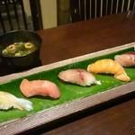 鮨 有楽 - にぎりと味噌汁