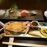 鮨 有楽 - 前菜、小鉢、刺身