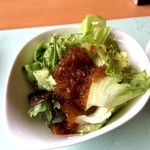 グリーンテラス 雲仙 - サラダ