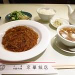 50089444 - 「京華飯店のランチ」麻婆春雨