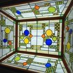 ぐーばーぐ - 天井のステンドグラス