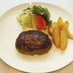 Katsu - 特製の牛100%のハンバーグ