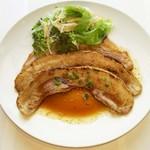 Katsu - 自家製のタレで仕上げる、豚バラのスタミナ焼き