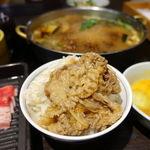 鍋ぞう - すき焼きランチ 1080円