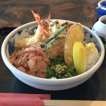 まるかつ - 天ぷらぶっかけ 850円